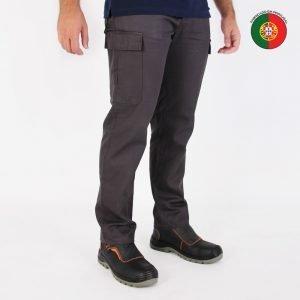 calças de trabalho multibolsos