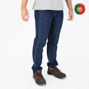 calças de ganga reforçada