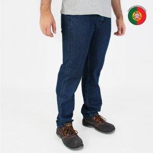 calças de ganga clássica